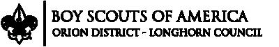 Orion District, BSA